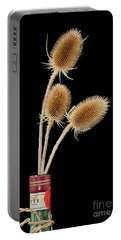 Flowers In A Bottle Portable Battery Charger
