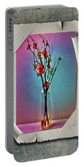 Flowers In A Vase Portable Battery Charger