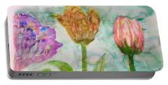 Tulips A'bloom Portable Battery Charger