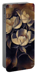 Flowers In Fall Portable Battery Charger