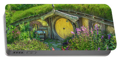 Flowers In The Shire Portable Battery Charger
