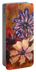 Flowers In The Spring Portable Battery Charger