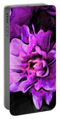 Flowers Of Lavender And Pink 1 Portable Battery Charger