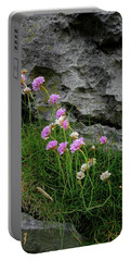 Flowers Of The Burren Portable Battery Charger