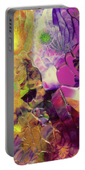 Flowers Of The Cosmic Sea Portable Battery Charger