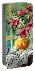 Flowers Shells And Lace Portable Battery Charger