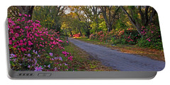 Flowers - Spring Fling Portable Battery Charger by HH Photography of Florida