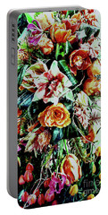 Flowing Bouquet Portable Battery Charger