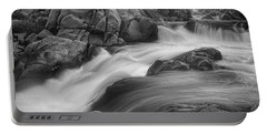 Flowing Waters At Kern River, California Portable Battery Charger