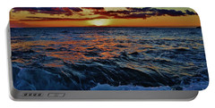 Fluid Sunset Portable Battery Charger