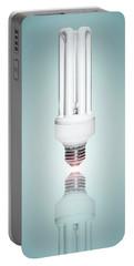 Fluorescent Light Bulb Portable Battery Charger