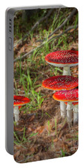 Fly Agaric Amanita Muscaria Portable Battery Charger