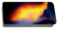 Portable Battery Charger featuring the photograph Fly Away by Eric Christopher Jackson