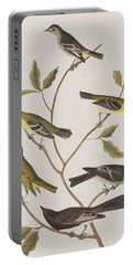 Fly Catchers Portable Battery Charger by John James Audubon
