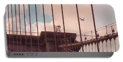 Fly Over Brooklyn  Portable Battery Charger