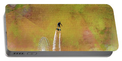 Flyboard, Sketchy And Painterly Portable Battery Charger