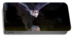 Flying Bat With Reflection Portable Battery Charger