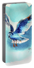 Flying Bird Portable Battery Charger by Kovacs Anna Brigitta