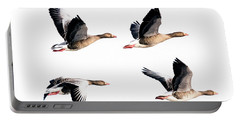 Flying Geese Portable Battery Charger