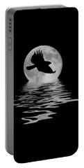 Portable Battery Charger featuring the photograph Flying Hawk 1 by Shane Bechler