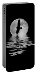 Portable Battery Charger featuring the photograph Flying Hawk 2 by Shane Bechler