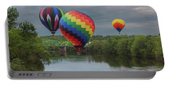 Flying Over The Androscoggin Portable Battery Charger