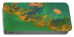 Flying Over The Keys, Florida Portable Battery Charger