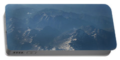 Flying Over The Mountains Portable Battery Charger