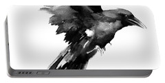 Flying Raven Portable Battery Charger by Suren Nersisyan