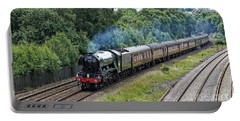 Flying Scotsman Approaching Chesterfield Portable Battery Charger