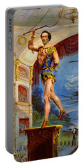 Portable Battery Charger featuring the photograph Flying Trapeze 1850 by Padre Art