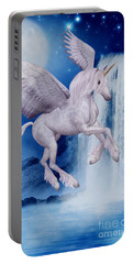 Flying Unicorn Portable Battery Charger