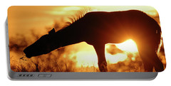Foal Silhouette Portable Battery Charger