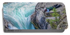Portable Battery Charger featuring the photograph Focused by Ronald Santini