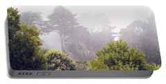 Portable Battery Charger featuring the photograph Fog At Lands End by Cindy Garber Iverson