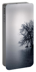 Fog Day Afternoon Portable Battery Charger