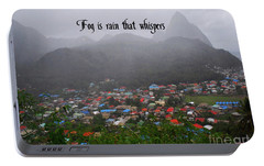 Portable Battery Charger featuring the photograph Fog by Gary Wonning