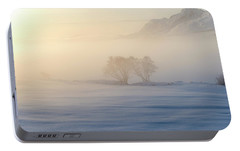Portable Battery Charger featuring the photograph Fog In Lofoten 3 by Dubi Roman