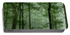 Fog In The Forest Portable Battery Charger