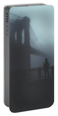 Portable Battery Charger featuring the photograph Fog Life  by Anthony Fields