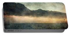 Fog On Garda Lake Portable Battery Charger