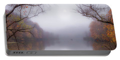 Fog On The Lake Portable Battery Charger