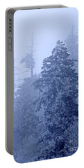 Portable Battery Charger featuring the photograph Fog On The Mountain by John Stephens