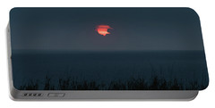 Fog Shrouded Sunrise Delray Beach Florida Portable Battery Charger