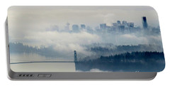 Fog-shrouded Vancouver Portable Battery Charger