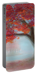 Foggy Autumn Portable Battery Charger
