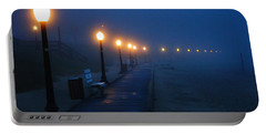 Foggy Boardwalk Blues Portable Battery Charger