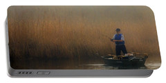 Foggy Fishing Portable Battery Charger