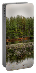 Foggy Island Reflections Portable Battery Charger