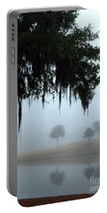 Foggy Morn Reflections Portable Battery Charger
